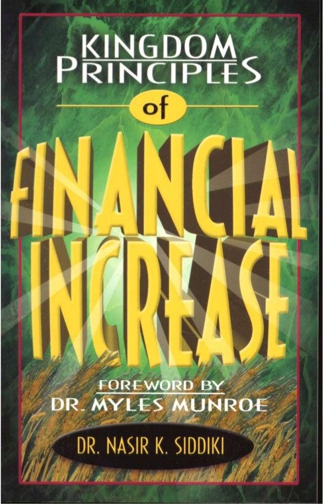 Kingdom Principles Of Financial Increase