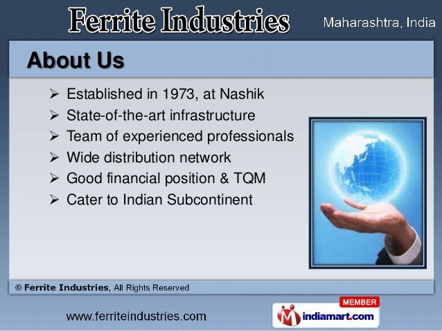 About Us    Established in 1973, at Nashik    State-of-the-art infrastructure    Team of experienced professionals    ...