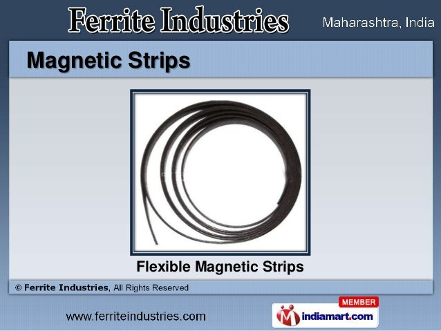 Magnetic Strips          Flexible Magnetic Strips