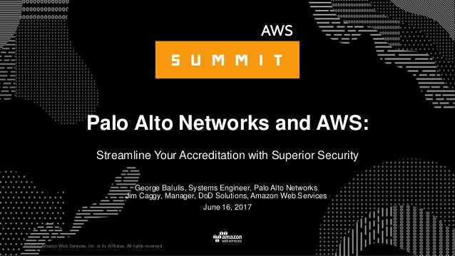 Palo Alto Networks and AWS: Streamline Your Accreditation with Superi…