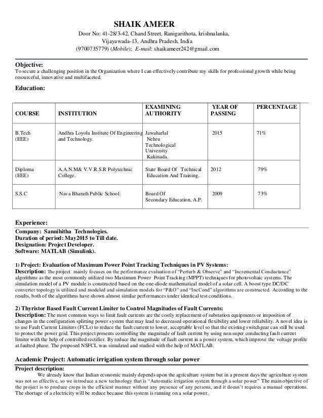 ameer matlab resume