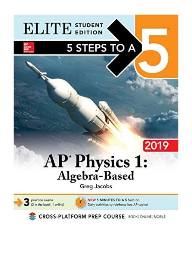 5 Steps To A 5 Ap Physics 1 Pdf