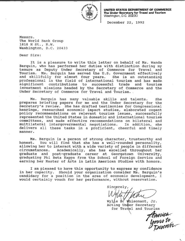 Georgetown Mba Letter Of Recommendation