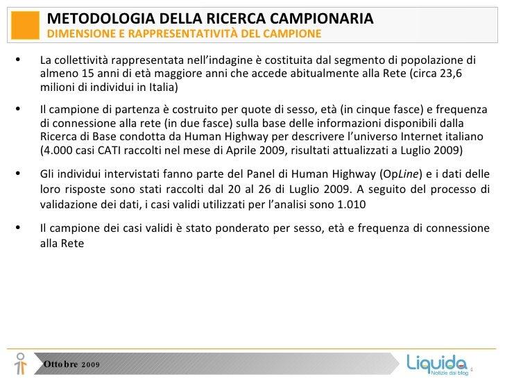 Analisi della fruizione di informazione online in Italia Slide 2