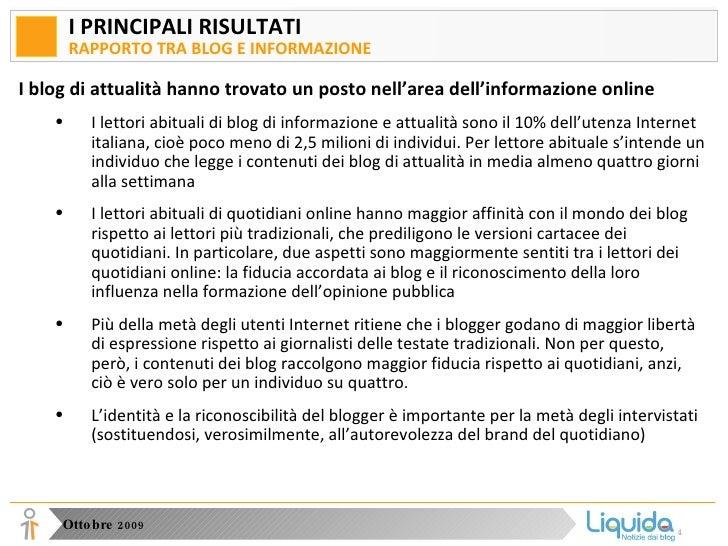 Analisi della fruizione di informazione online in Italia Slide 3