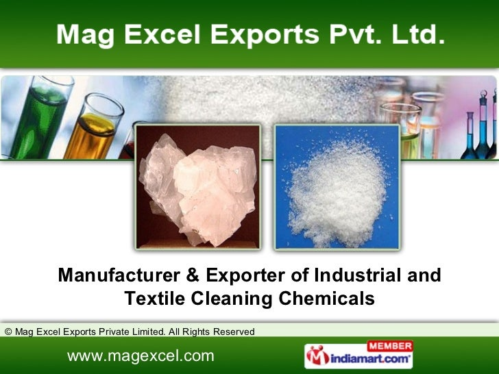 Manufacturer & Exporter of Industrial and Textile Cleaning Chemicals