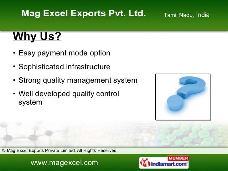 Water Treatment Chemical by Mag Excel Exports Private Limited Chennai Slide 3