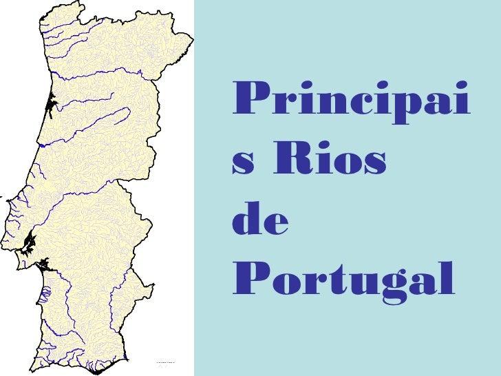 Principais RiosdePortugal