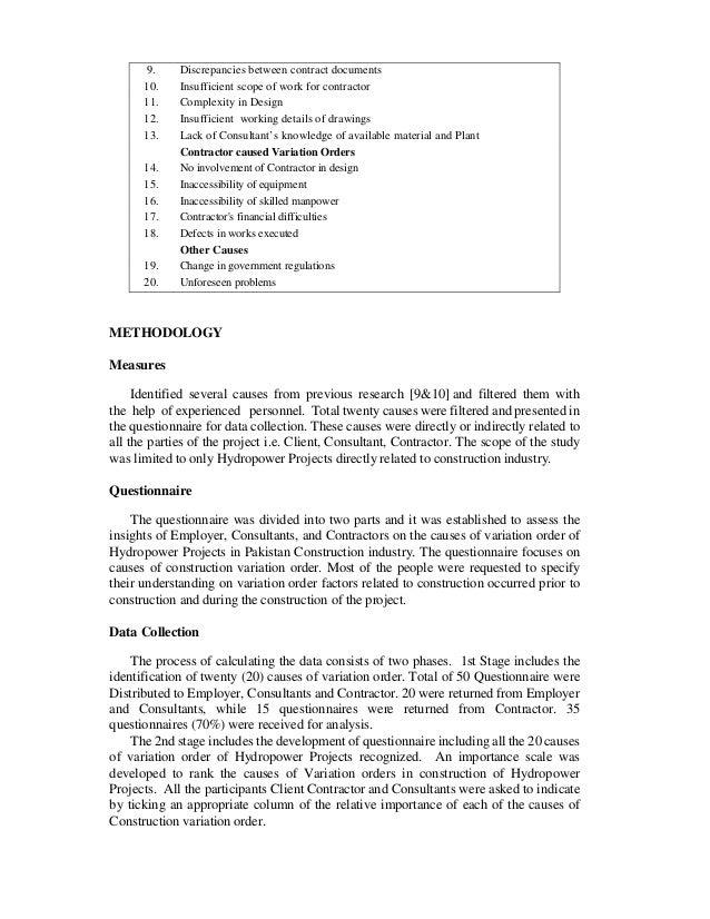 Causes Of Variation Orders 1268