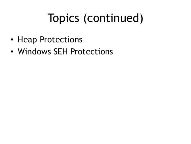 CNIT 127 14: Protection Mechanisms Slide 3