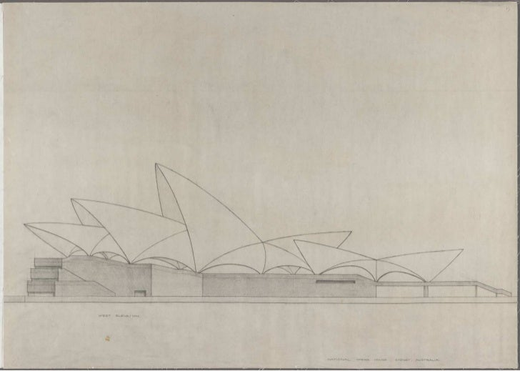 Sydney Opera House, drawings