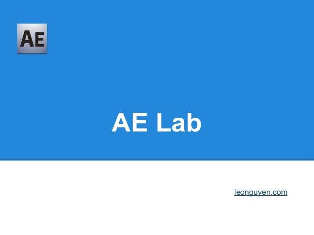 AE Lableonguyen.com
