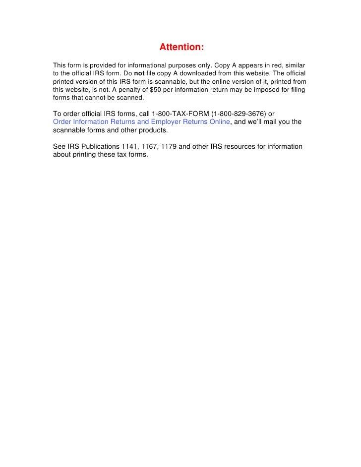 Form 1099 Oid Original Issue Discount