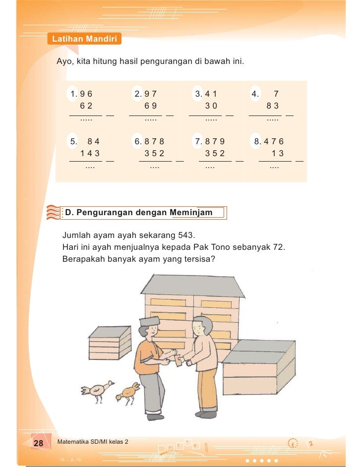 Sd Mi Kelas02 Matematika Purnomosidi