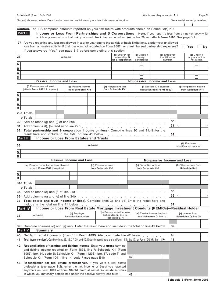 Form 1040 Schedule Peopledavidjoel