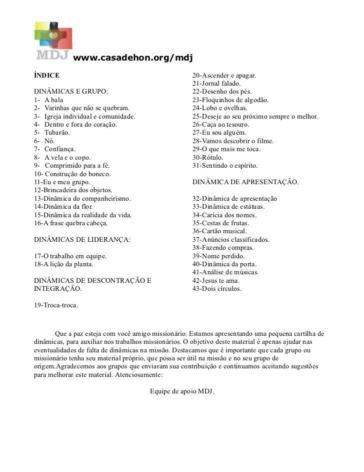 www.casadehon.org/mdjÍNDICE                                               20-Ascender e apagar.                           ...
