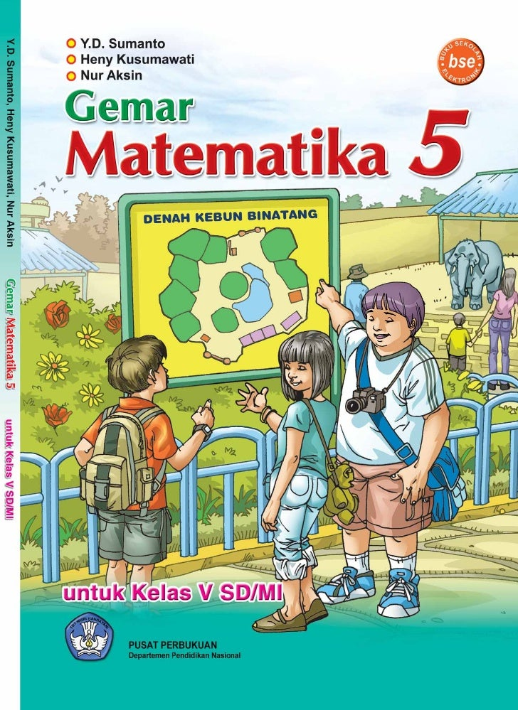 Sd Mi Kelas05 Gemar Matematika Sumanto Heny Nur