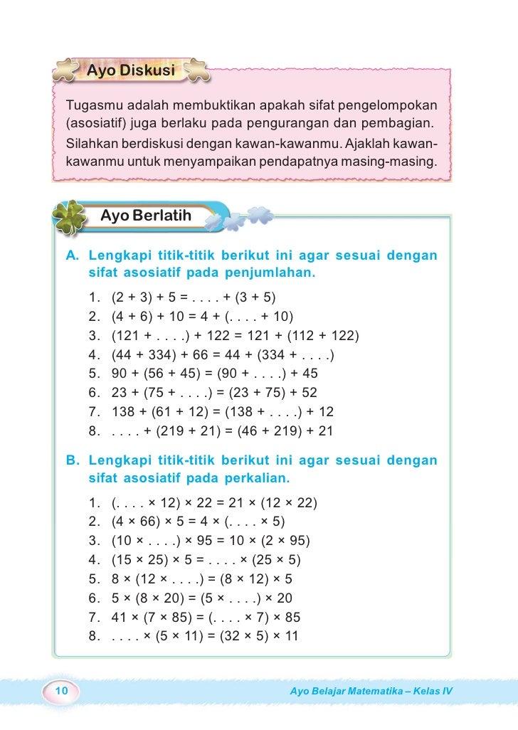 Kunci Jawaban Mari Belajar Matematika Kelas 5 Halaman 22 Sanjau Soal Latihan Anak