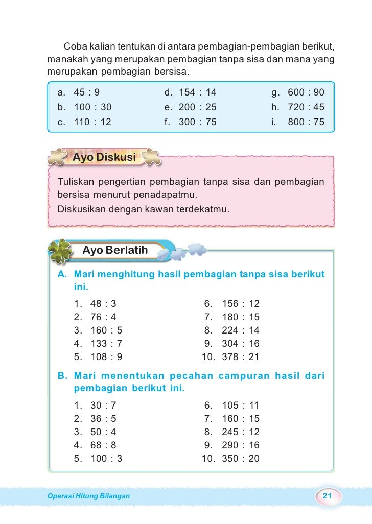 Sd Mi Kelas04 Ayo Belajar Matematika Burhan Ary