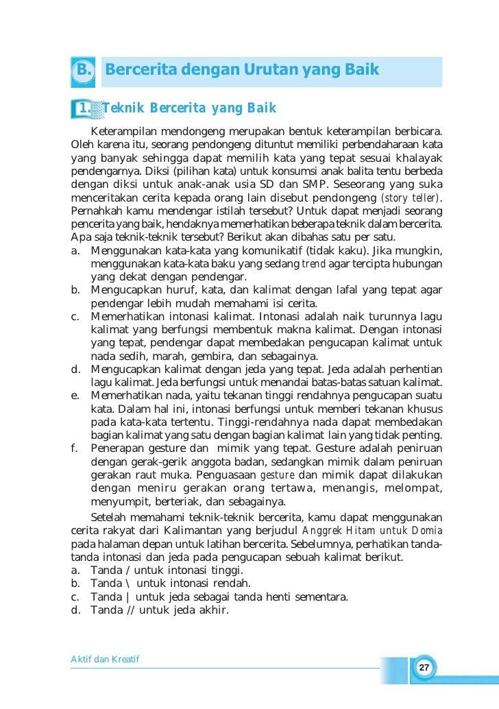 Smp Mts Kelas07 Kompetensi Berbahasa Indonesia 1 Ratna Susanti