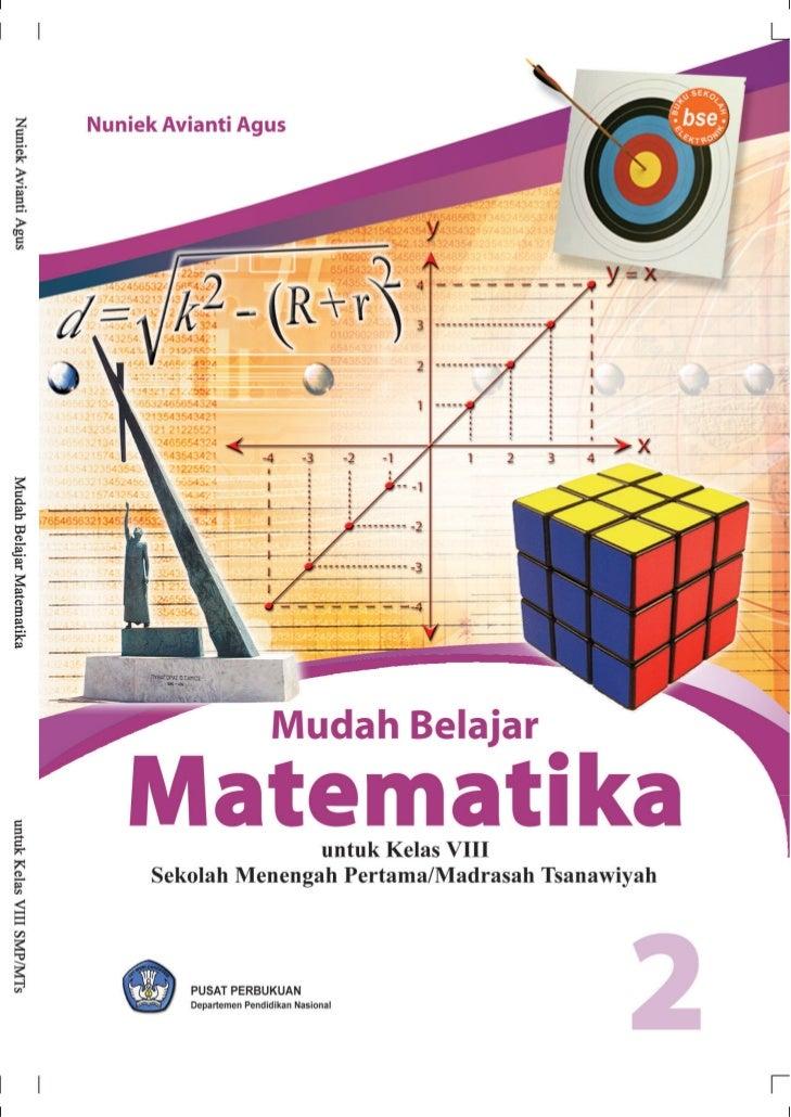 Pusat Perbukuan    Departemen Pendidikan Nasional                    untuk Kelas VIII Sekolah Menengah Pertama/Madrasah Ts...