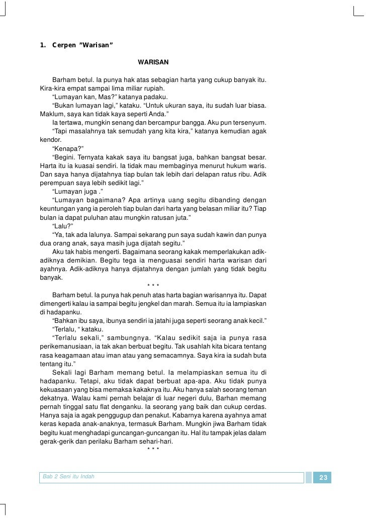 Smp Mts Kelas09 Bahasa Dan Sastra Indonesia 3 Dwi Septi