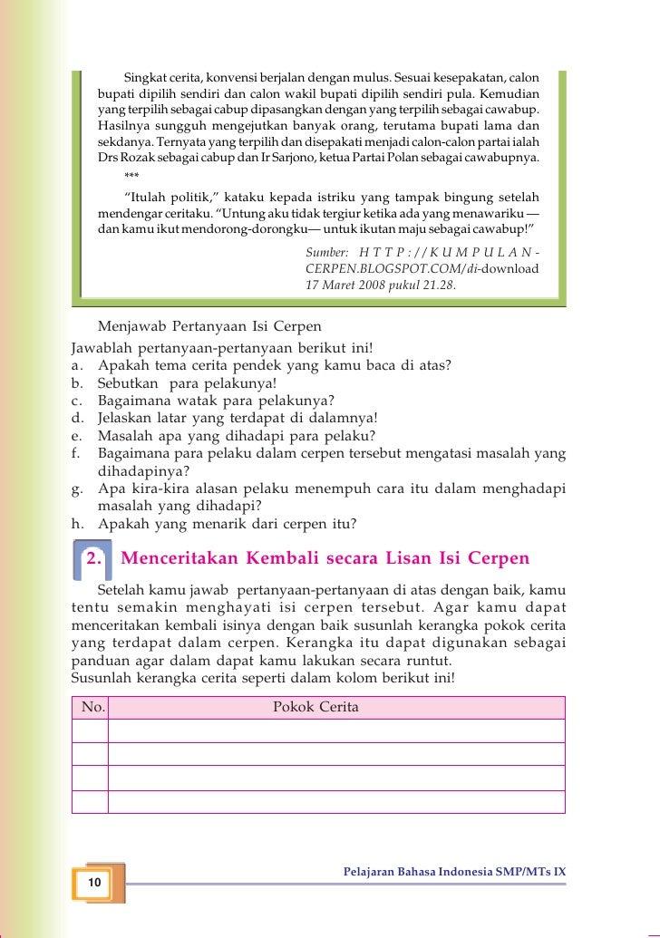Smp Mts Kelas09 Bahasa Indonesia Tri Sunardi