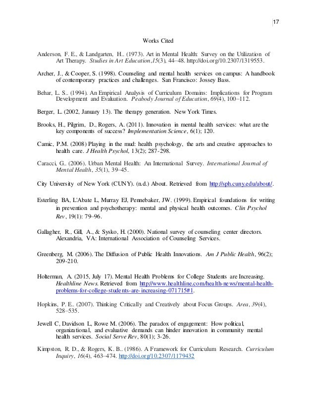 Mph Internship Proposal