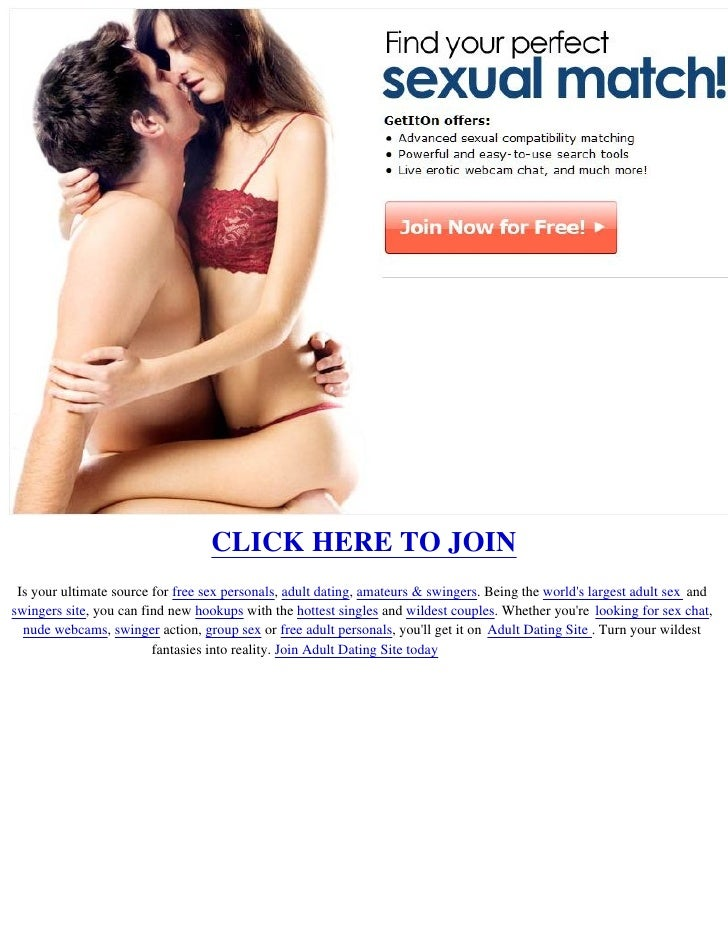 Adult personal ads for sex
