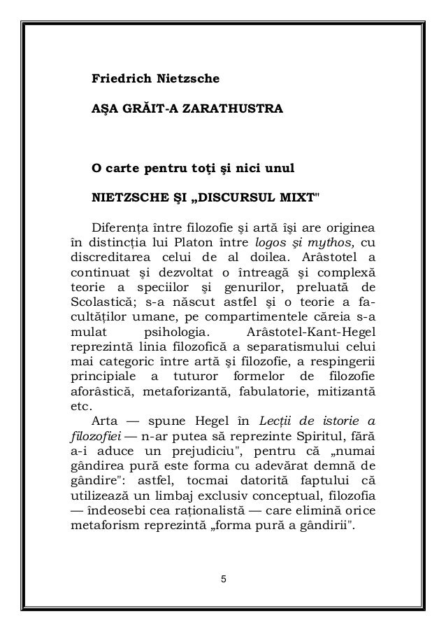Asa Graita Zarathustra Pdf download free