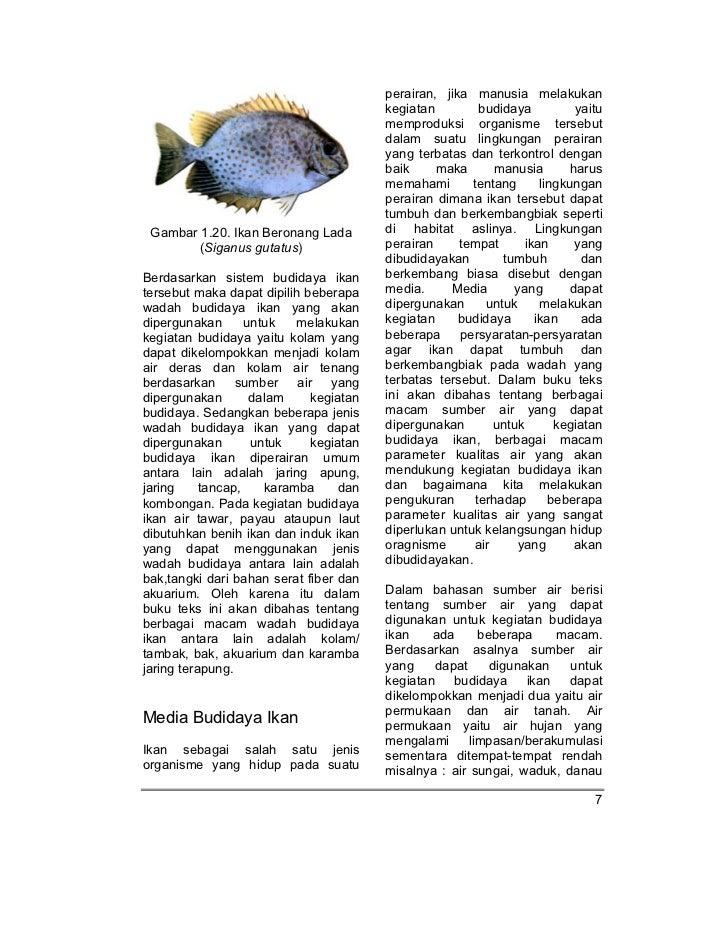 SMK-MAK kelas10 smk budidaya ikan gusrina Ikan Tambakan