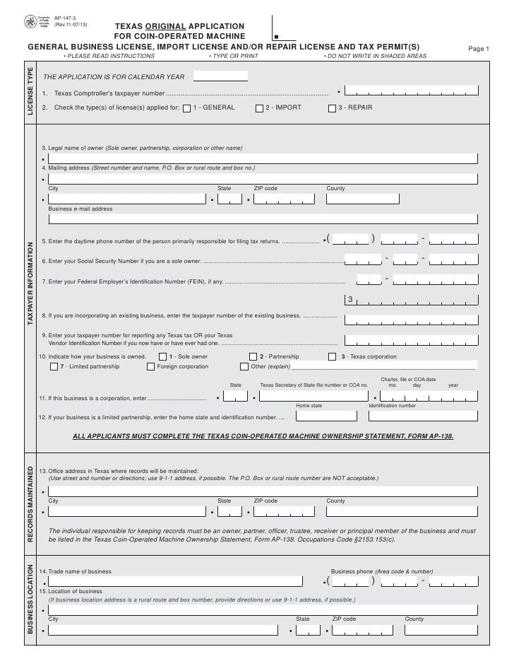 How much is it to get a business license in texas