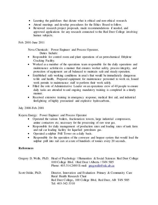 Awesome Red Deer Engineering Resume Images - Best Resume Examples ...