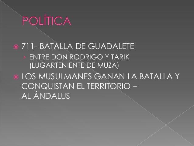   1. EMIRATO DEPENDIENTE DE DAMASCO.    711 – 756    › LOS MUSULMANES OCUPAN LA PENÍNSULA    › DEPENDEN DEL CALIFA DE DA...