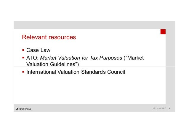 valuation guidelines for self managed superannuation funds