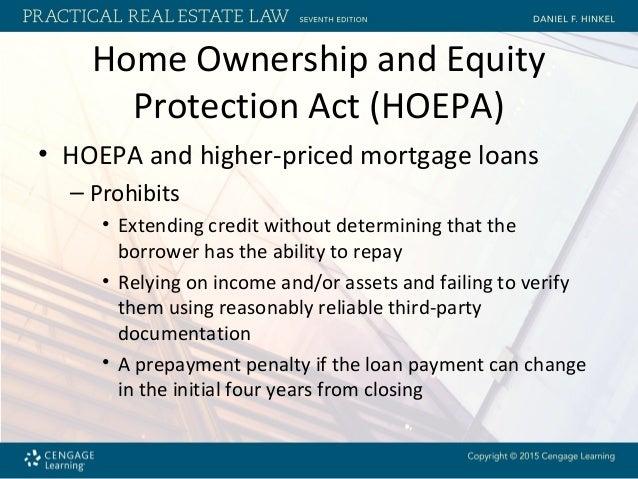 Hoepa Loans
