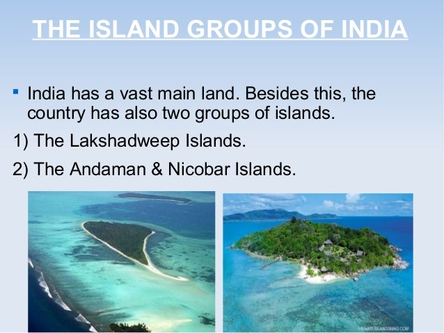 India Map And Islands