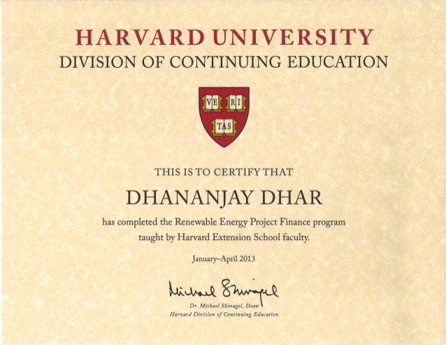 Harvard University Extension Harvard Extension School Resume