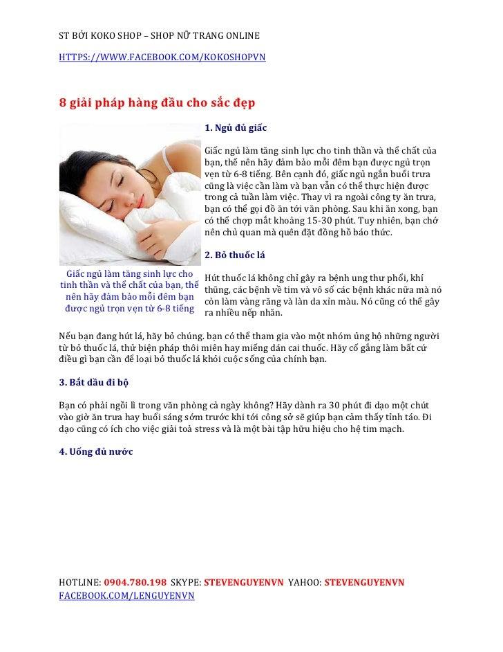 ST BỞI KOKO SHOP – SHOP NỮ TRANG ONLINEHTTPS://WWW.FACEBOOK.COM/KOKOSHOPVN8 giải pháp hàng đầu cho sắc đẹp                ...