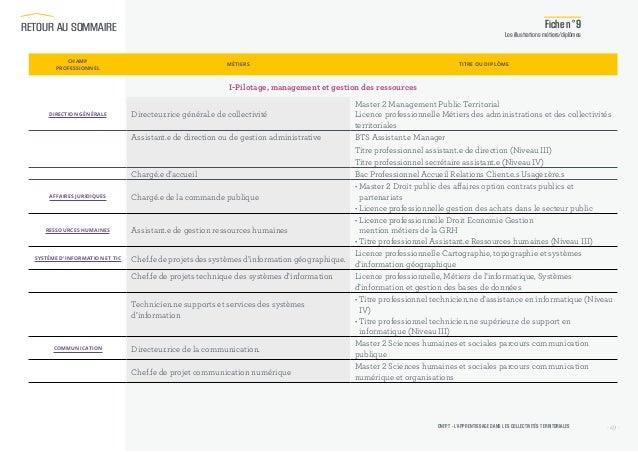Guide de l 39 apprentissage dans la fonction publique - Grille indiciaire directeur territorial ...