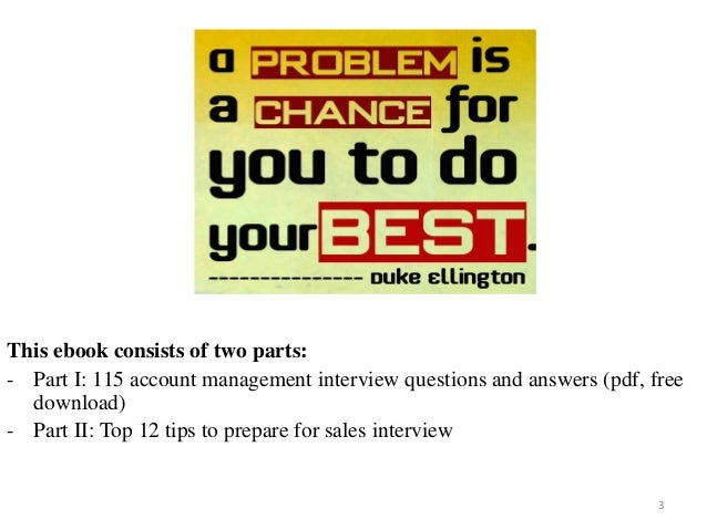 115 account management interview questions and answers fandeluxe Images