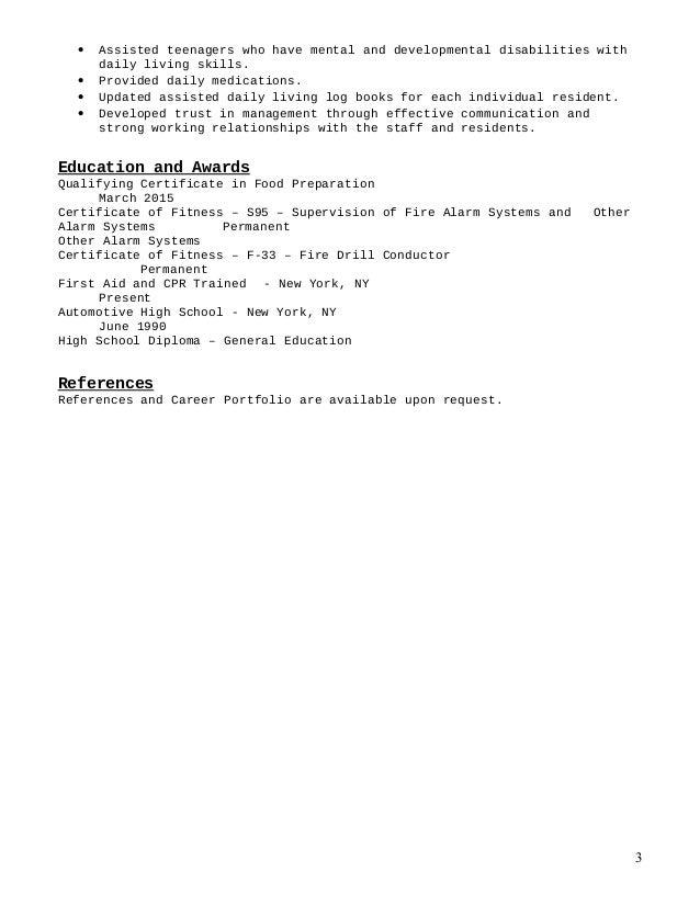Resume - Noel Torres (1) Slide 3