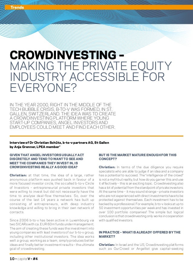Capital v 4 creating a hub for innovation roundtable venture capita - Middle office private equity ...
