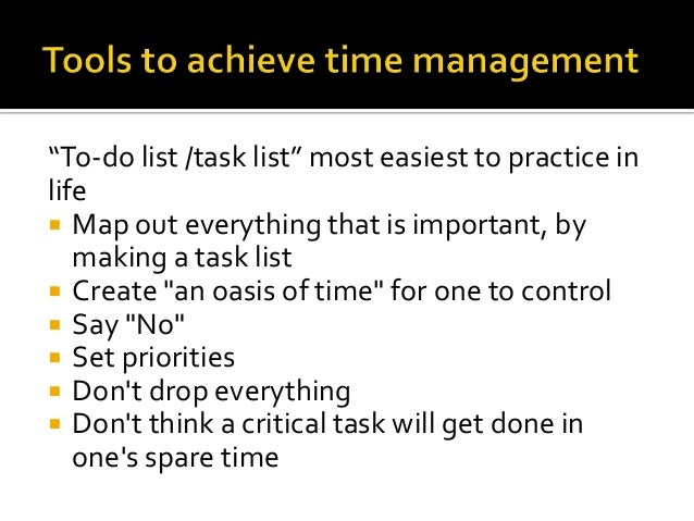 time management schedule long time intervals for large tasks This way at the end of the day i have real-time feedback on how long tasks took me and where i might have been wasting time build a morning routine that gives you momentum time management starts from the moment you wake up.