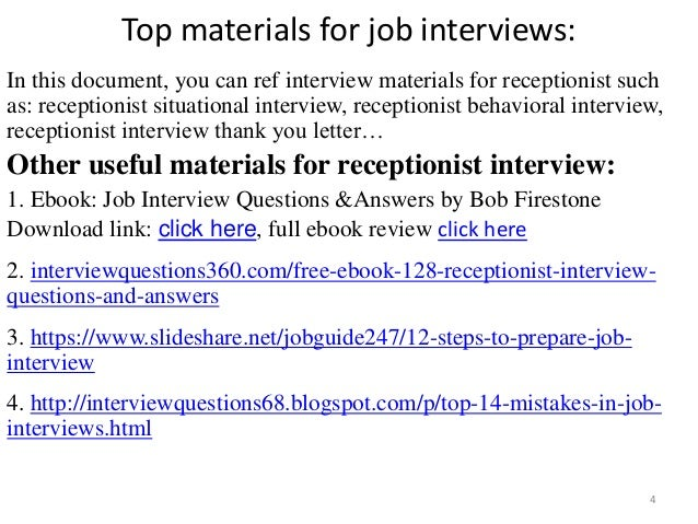 Hospital Receptionist Interview Questions And Answers. Top 10 Front Desk  Medical Receptionist Interview Questions ...