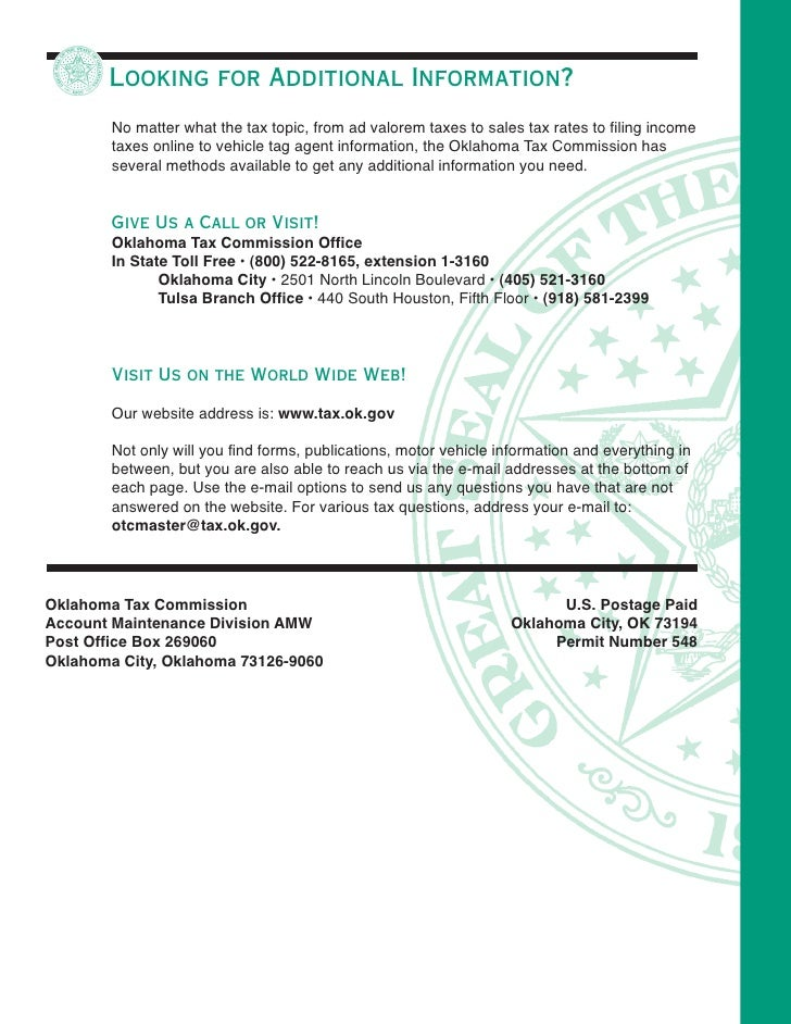Oklahoma Sales Tax Form Bogasrdenstaging