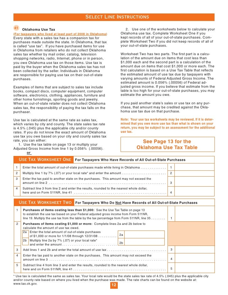 Individual Nonresident/Part-Year Income Tax Return Packet