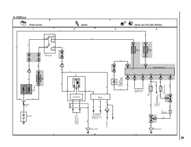 Toyota corolla ignition wiring diagram