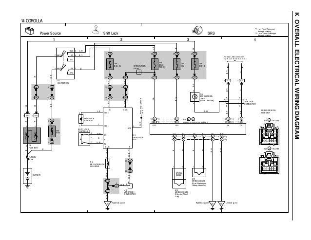 95 toyota corolla instrument cluster wiring diagram
