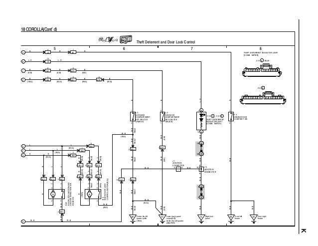 Toyota corolla ignition wiring diagram